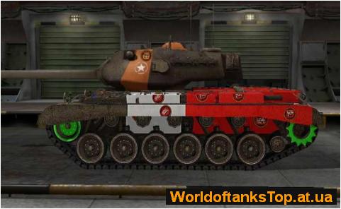 Цветные шкурки с уязвимыми местами (зонами пробития) танков World Of Tanks.